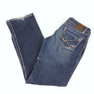 BKE Denim Sabrina Boot Distressed Stretch Jeans
